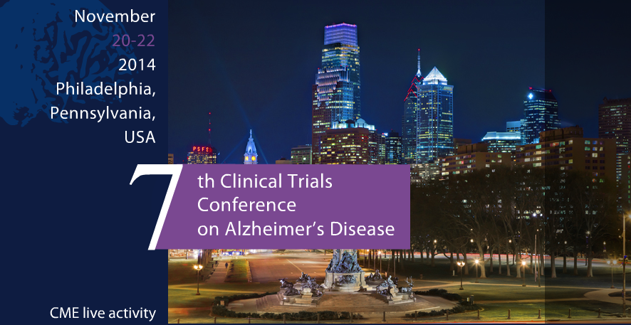 CTAD 2014 presentation of a blood-based 7-metabolite signature for the early diagnosis of Alzheimer´s disease.